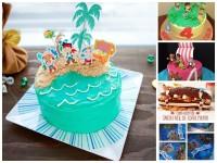 5 tartas fáciles de Jake y los Piratas de Nunca Jamás
