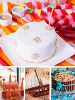 15 tartas de cumpleaños súper FÁCILES