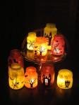 Manualidades de Halloween: Faroles con frascos