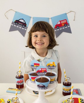 Kit de fiesta gratuito: ¡fiesta de coches!