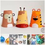 6 manualidades para niños de animales