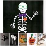 Manualidades infantiles para una fiesta de Halloween