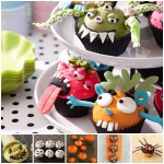 Recetas de Halloween: cupcakes terroríficos