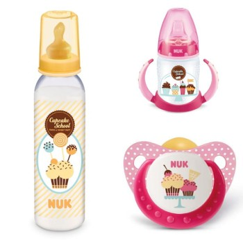 """NUK """"Cupcake School"""", ¡para los bebés más dulces!"""