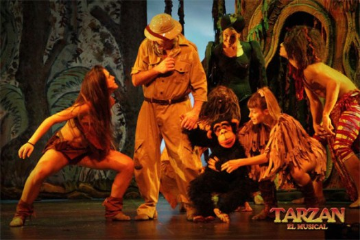 Tarzán, el musical ¡en Madrid!