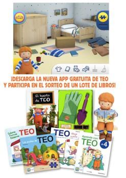 ¡Descarga la App gratuita de TEO y gana libros!