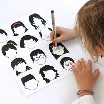 Manualidades infantiles para aprender las emociones