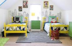 Habitaciones infantiles de superhéroes