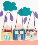Manualidades infantiles, ¡bolsos originales!