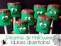 Recetas de Halloween, ¡dulces divertidos!