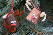 6 adornos de Navidad fáciles para el árbol