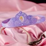 Princesas Disney, coronas recortables
