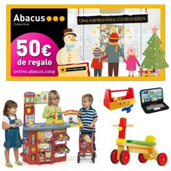 ¡Gana 50€ en juguetes educativos de Abacus!
