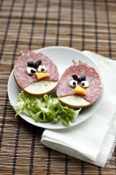 7 recetas para niños ¡de Angry Birds!