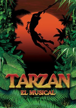 TARZÁN, el Musical ¡gana un pack de 4 entradas!