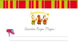 Carta a los Reyes Magos, ¡imprime gratis 4 modelos!