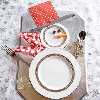 Decoración de Navidad, ¡la mesa está servida!