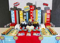 5 fiestas infantiles de superhéroes