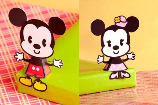 6 manualidades infantiles de Mickey y Minnie Mouse