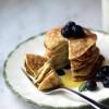 Tortitas americanas de dos ingredientes ¡sin gluten!