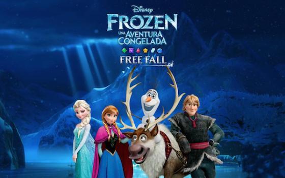 Juegos infantiles, una app gratis ¡de Frozen!
