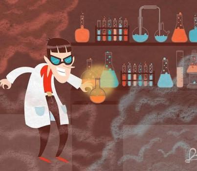 """Cuento de terror corto: """"El extraño laboratorio del profesor Melquíades"""""""