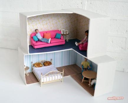 Casas de muñecas, 4 ideas caseras