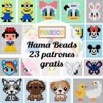Hama beads, 23 patrones para descargar gratis
