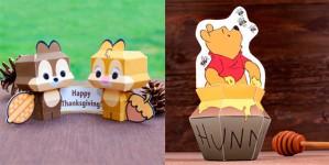Personajes Disney, ¡8 recortables para jugar!