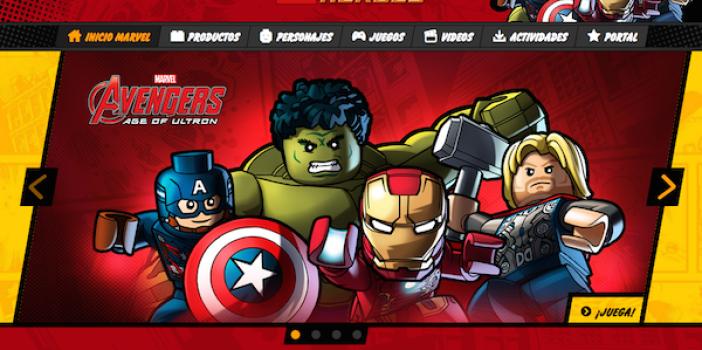 Juegos online gratis de Lego, ¡Superhéroes Marvel!