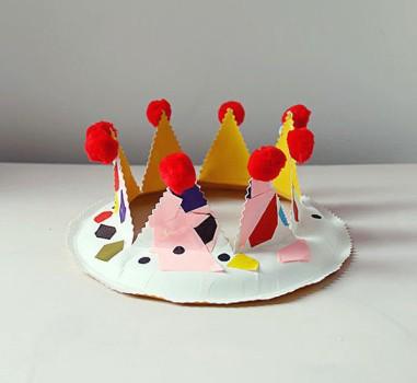 Manualidades para niños, 6 coronas de cumpleaños