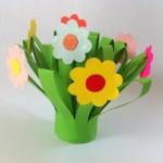 Flores de papel, 5 ideas para hacer con los niños