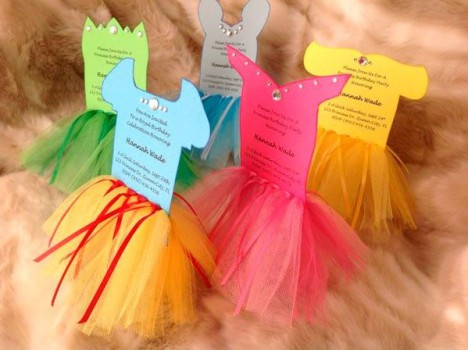 Fiestas infantiles: invitaciones fáciles y originales