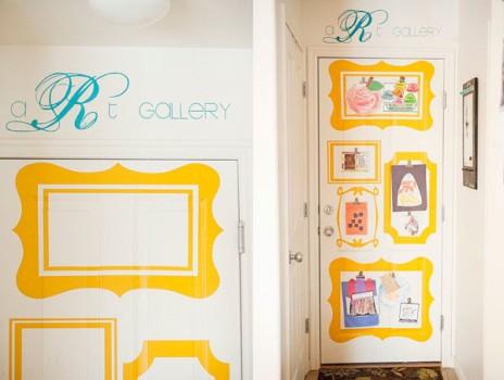 Habitaciones infantiles, puertas decoradas ¡divertidas!