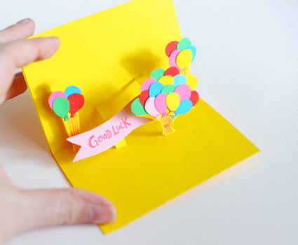 5 tarjetas de felicitación ¡pop up!