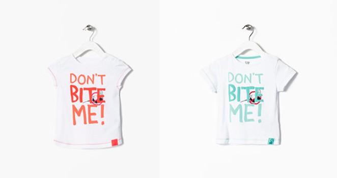 Camisetas originales para niños: ¡antimosquitos!