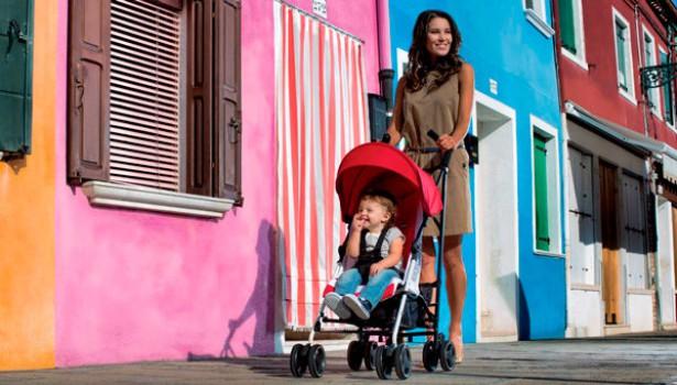 Net, la silla de paseo ligera y práctica de Inglesina