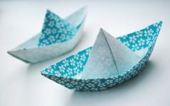 Barcos de papel, 4 modelos diferentes