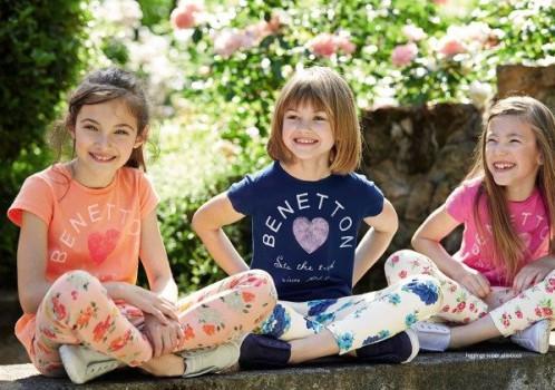 Benetton niños: la moda del verano 2015