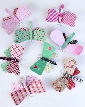 7 manualidades para niños ¡de mariposas!