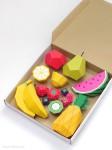 Manualidades para niños, ¡frutas coloridas!