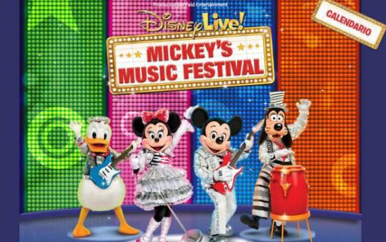 Disney Live! Mickey's Music Festival ¡gira por España!