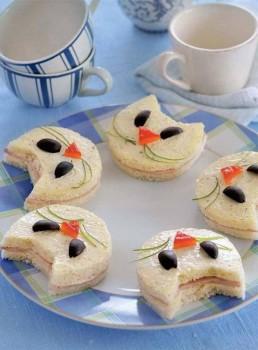 5 recetas de sándwiches divertidos