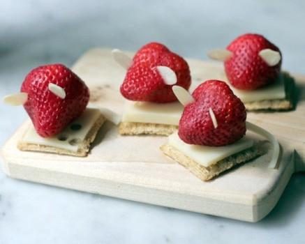 4 snacks saludables ¡con 3 ingredientes!