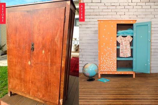 Muebles infantiles: armarios originales