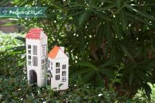 Ciudad de juguete reciclada ¡fácil y ecológica!