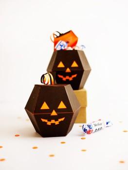 Manualidades de Halloween: cajitas para chuches