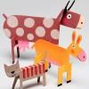 Manualidades para niños, 5 animales divertidos
