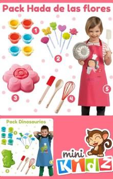 ¡Gana un pack de accesorios de cocina para niños!