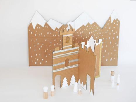 5 manualidades con cartón ¡para jugar!